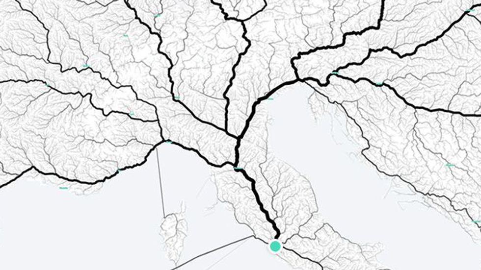 Yes, All Roads Do Lead to Rome