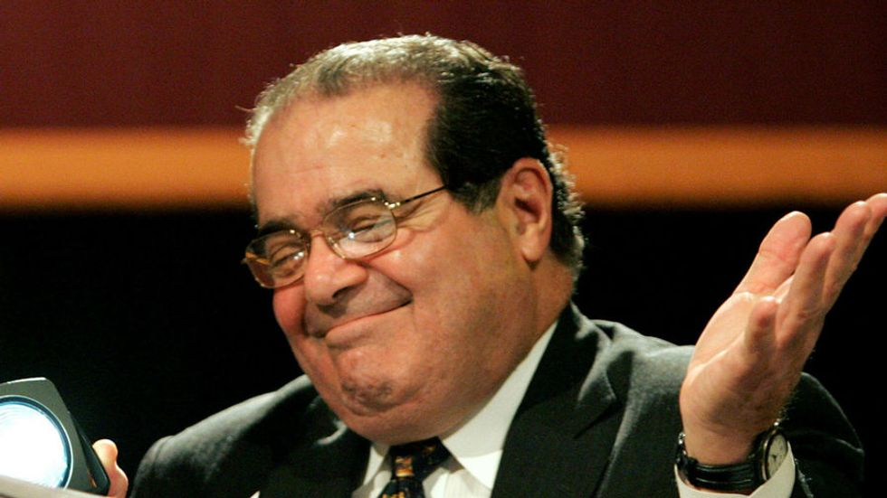 Justice Scalia Suggests that 'Slow-Track' Colleges May Be Better for Black People