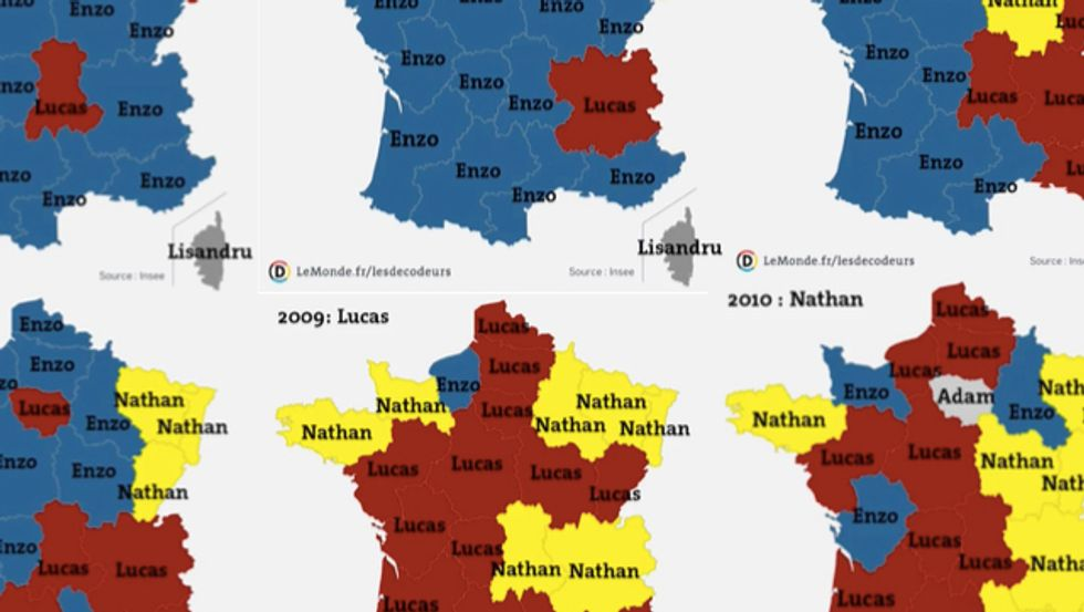 Game of Thrones — the French Baby Boys' Names Edition