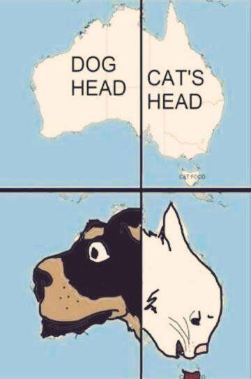 Australia Map Looks Like A Dog.Honey I Melted Australia Big Think