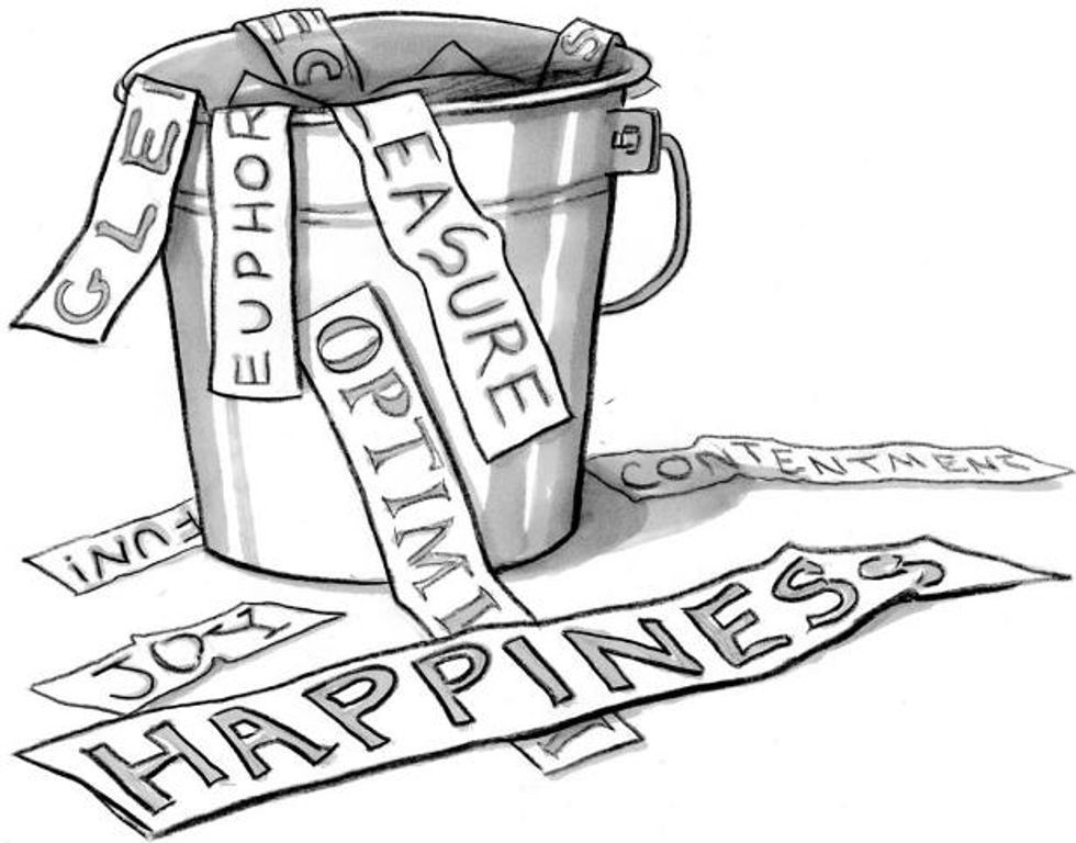How the Idea of Happiness Got So Confusing
