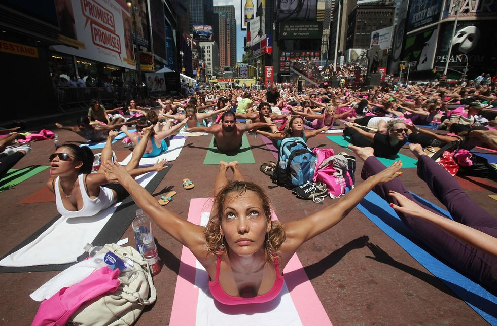 Want to Be Zen as F*Ck?  Try Rage Yoga.