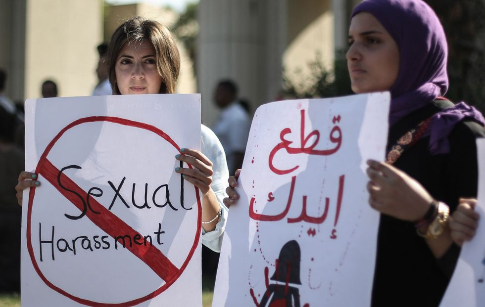 sexual harassment protest