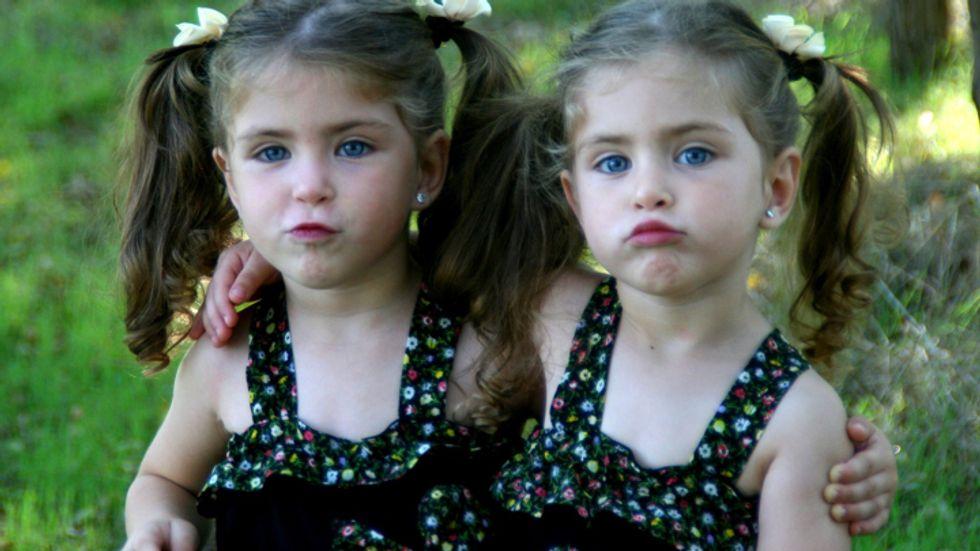 Defiant twins