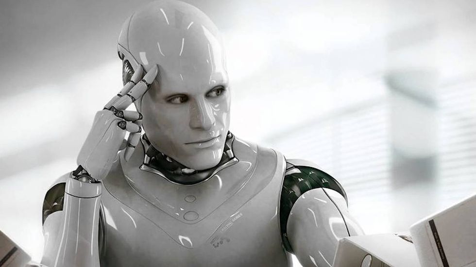 Robot that looks human.