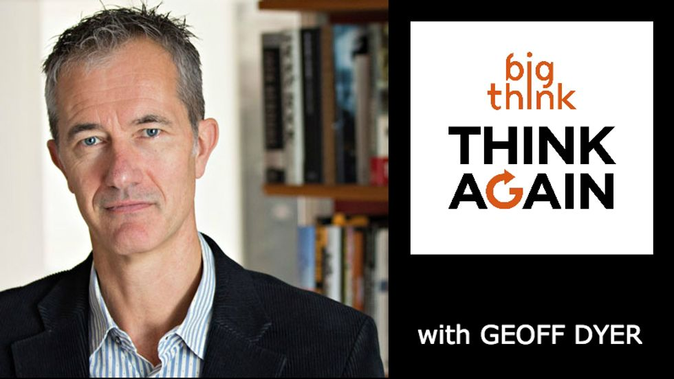 Think Again Podcast #49 – Geoff Dyer – Everyday Epiphanies