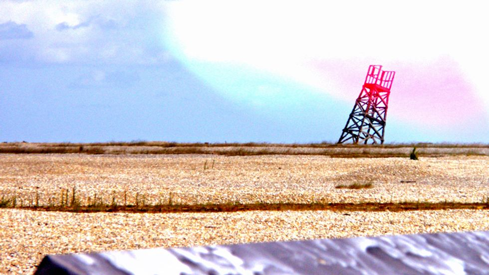 Desert test range