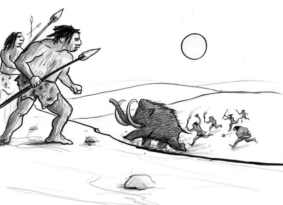 Paleo-Economics Shaped Us Morally? For Team Survival...