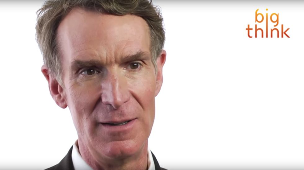 Bill Nye asks why