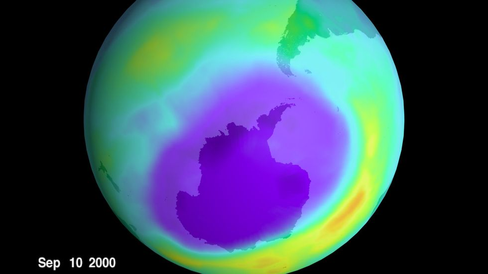 Ozone Hole Could Be Completely Healed by 2050