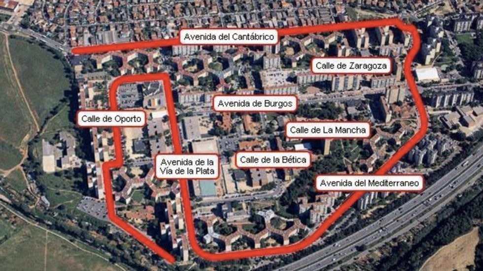 A topography of Catalonia's streets