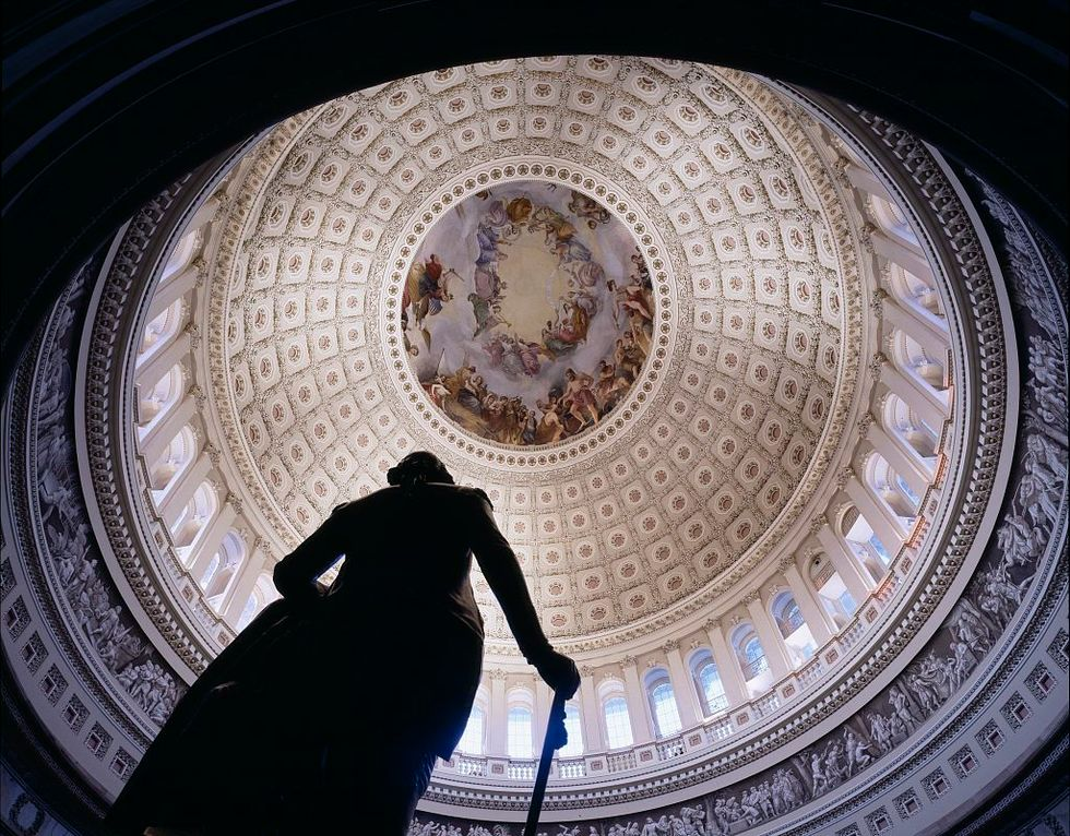 1979. U.S. Capitol dome, Washington, D.C.