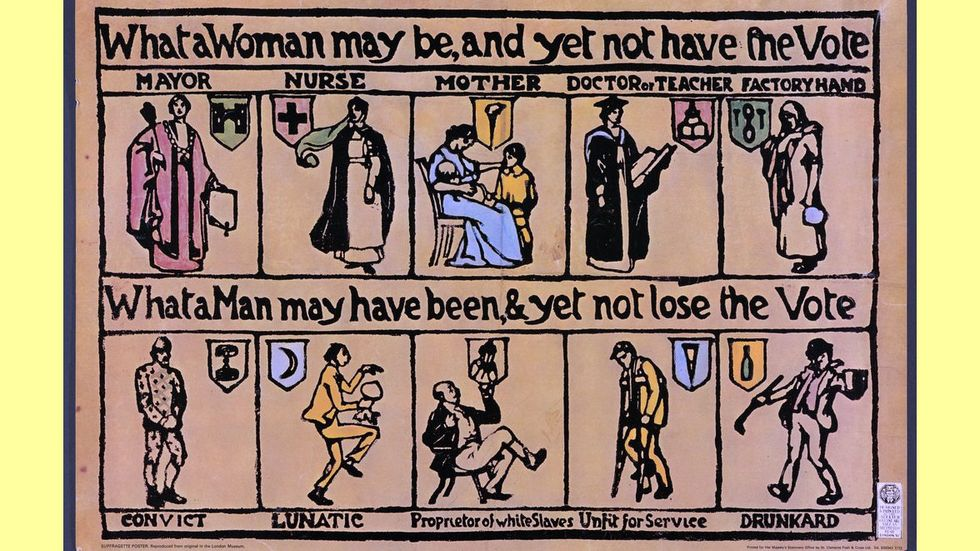 Moving, Powerful Posters from the Women's Suffrage Movement