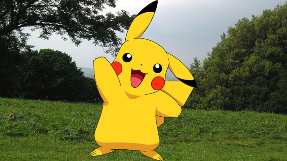 Pikachu in the real world