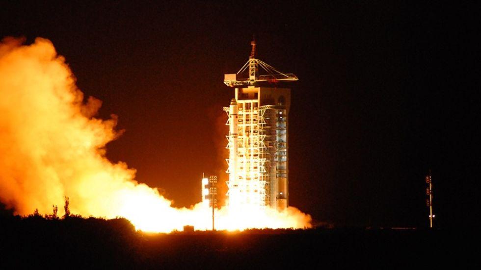 Quantum satellite lifts off