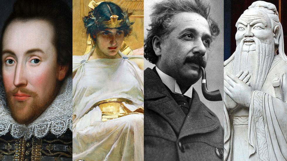 24 of the smartest people who ever lived