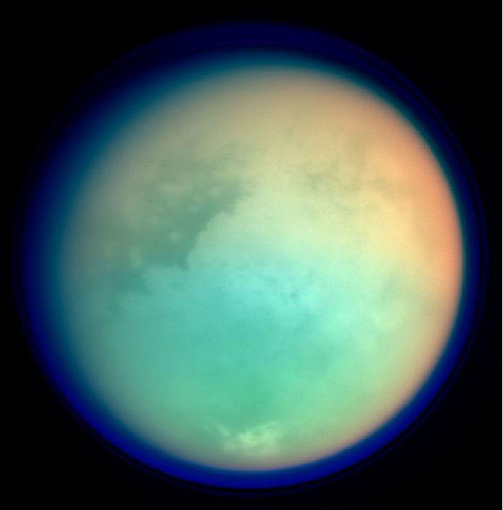 Saturn's moon Titan.