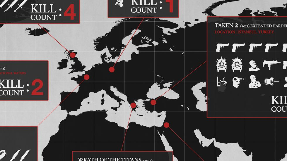 Update Needed: the Liam Neeson Kill Map