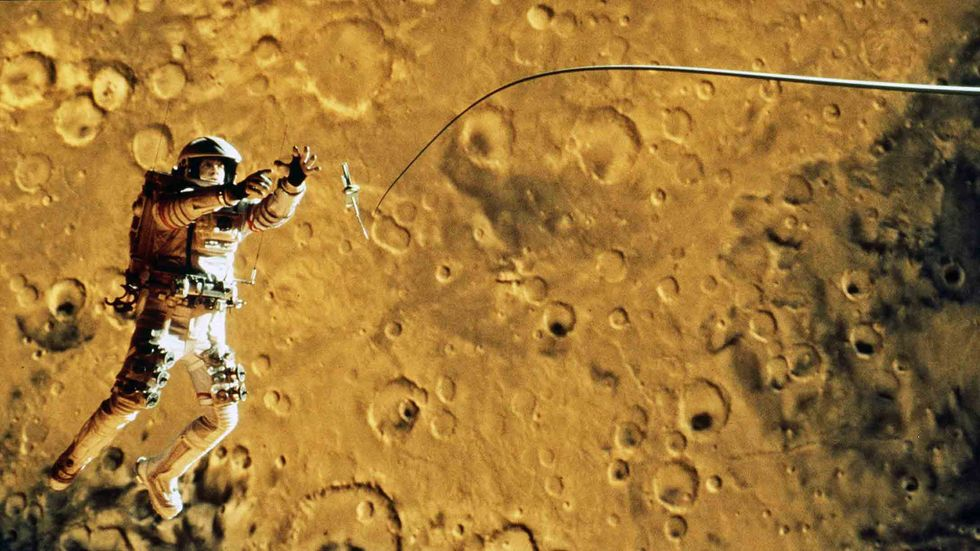 Touchstone Pictures'' adventure/drama, 'Mission To Mars.' Photo credit: ILM Touchstone Pictures