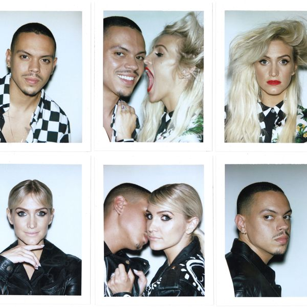 All The Pieces of Ashlee Simpson and Evan Ross