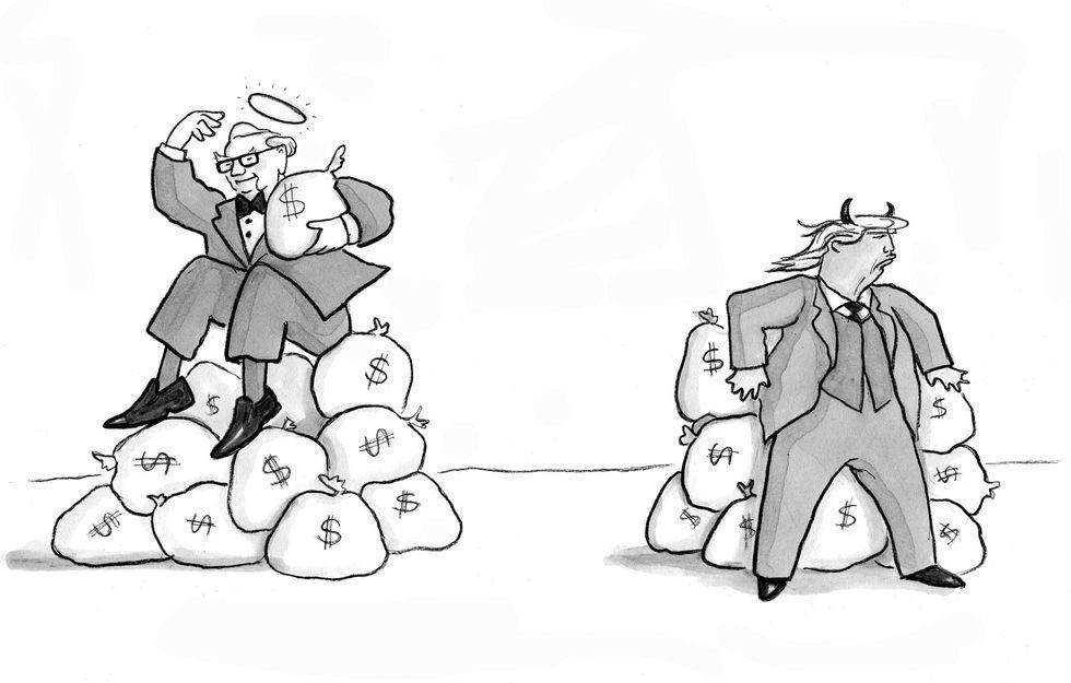 Good Rich vs Bad Rich