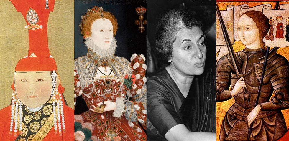 15 of the most powerful women in history