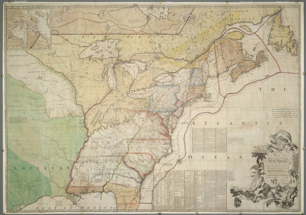 Secret Map Shows Brits Considered Giving Lower Canada to U.S. in ...