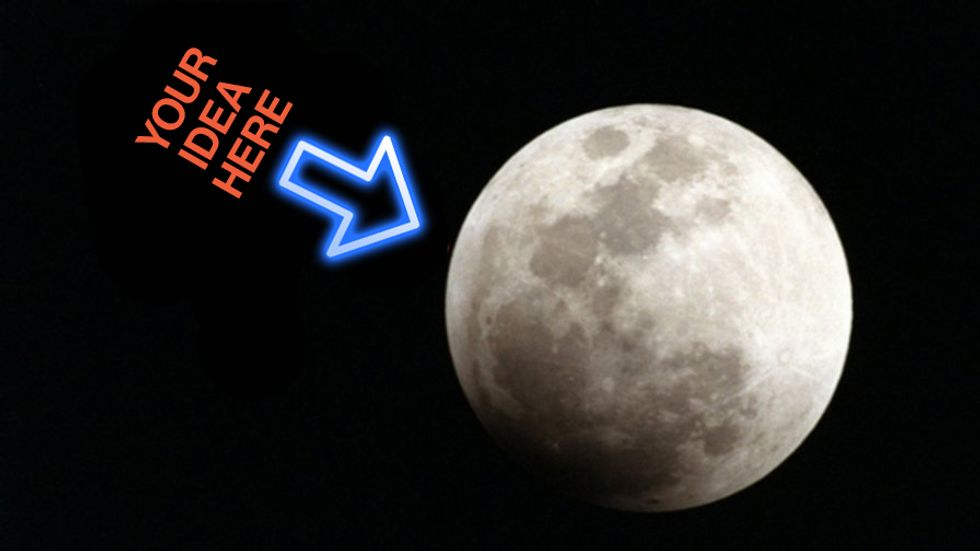 The Moon. Credit: NASA/Kennedy