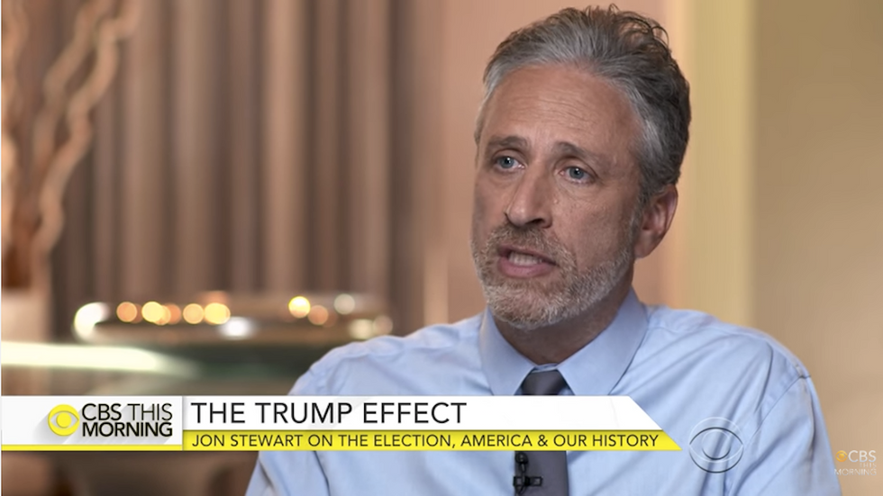 Jon Stewart's Reaction to the Election Is Spot-On, If Just a Bit … Optimistic