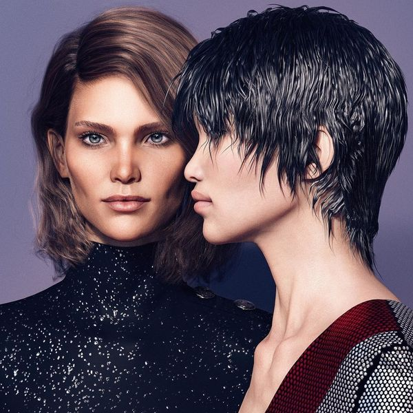 Balmain Embraces the Synthetic Look in Pre-Fall Campaign