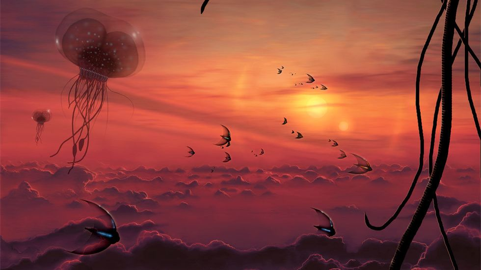 """Alien Lifeforms Could Exist in the Clouds of Brown Dwarfs, Cold """"Failed"""" Stars"""