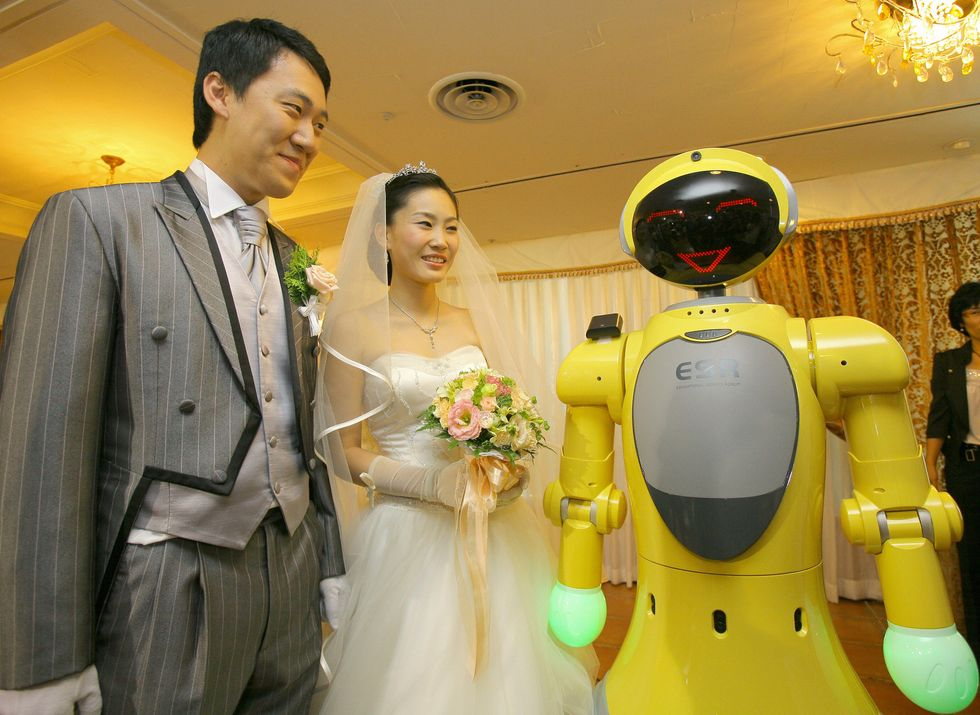 Humans could be marrying robots by 2050, claims robot expert
