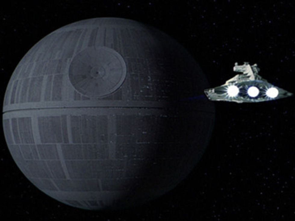The Cost of Blowing up the Death Star? The Biggest Recession in the Universe