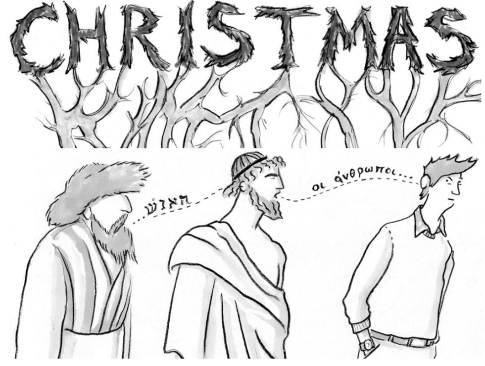 The Meaning of Christmas Literally... Involves Two Kinds of Liberation