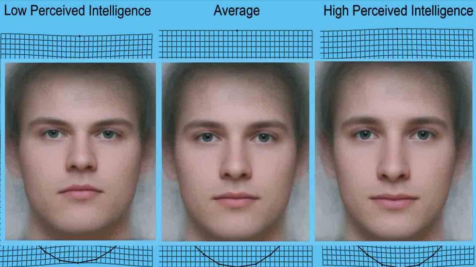 Facial Features and Perceived Intelligence