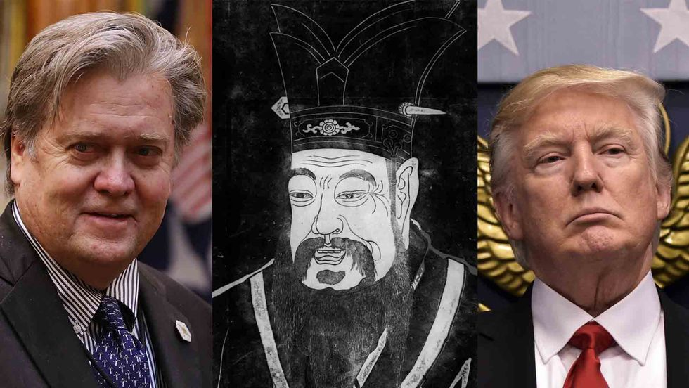 Steven Bannon, Sun Tzu, and Donald Trump