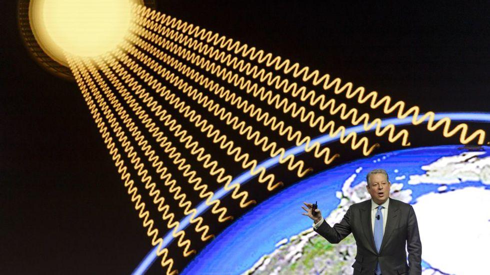 Al Gore. An Inconvenient Truth.