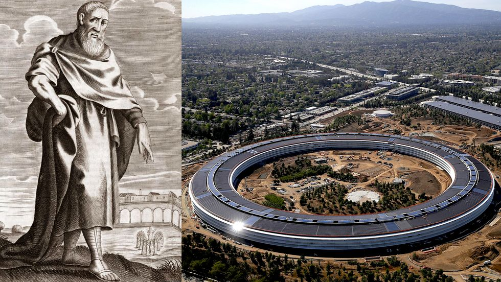 Zeno of Citium and the new Apple campus in Silicon Valley