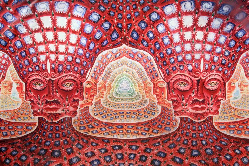 Consciousness invading the universe.