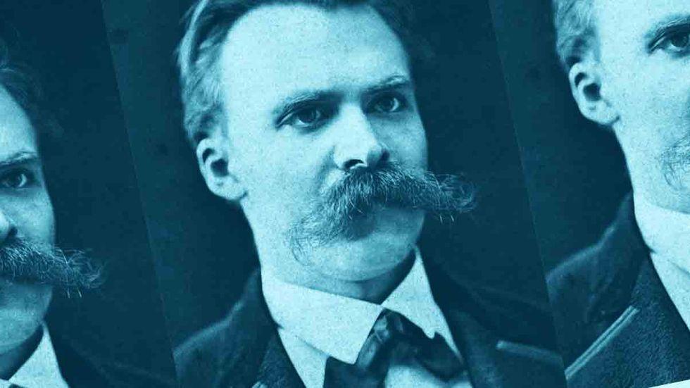 Friedrich Nietzsche. (Photograph by Friedrich Hartmann/Wikimedia Commons/Orion Jones)