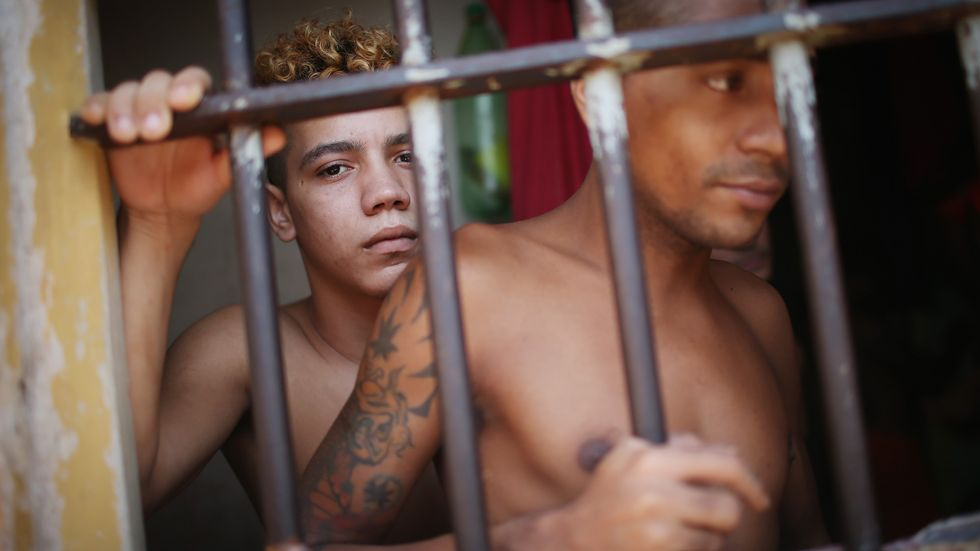 The Brazilian prison population has doubled since 2000. (Photo: Mario Tama/Getty Images)