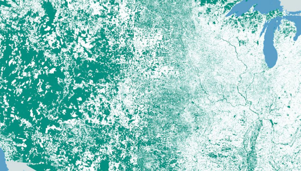 Nobody Lives Here: Mapping Emptiness in the U.S. and Beyond