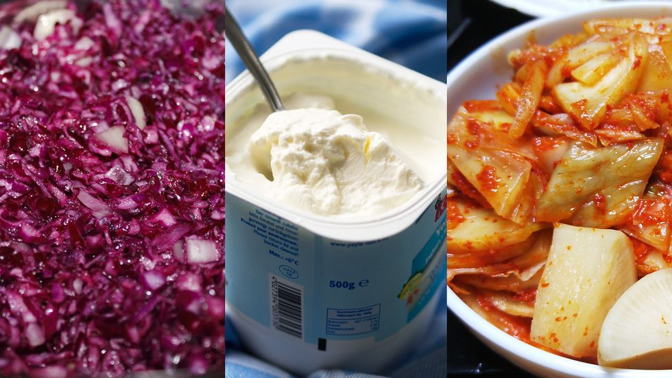 Sauerkraut, yoghurt, and kimchi are three fermented foods that can boost your immunity against influenza.