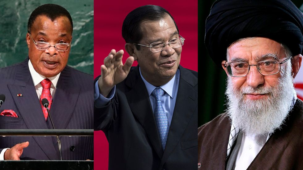 The 7 longest ruling dictators in the world