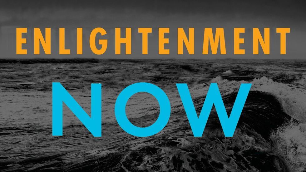 Enlightenment Now, by Steven Pinker