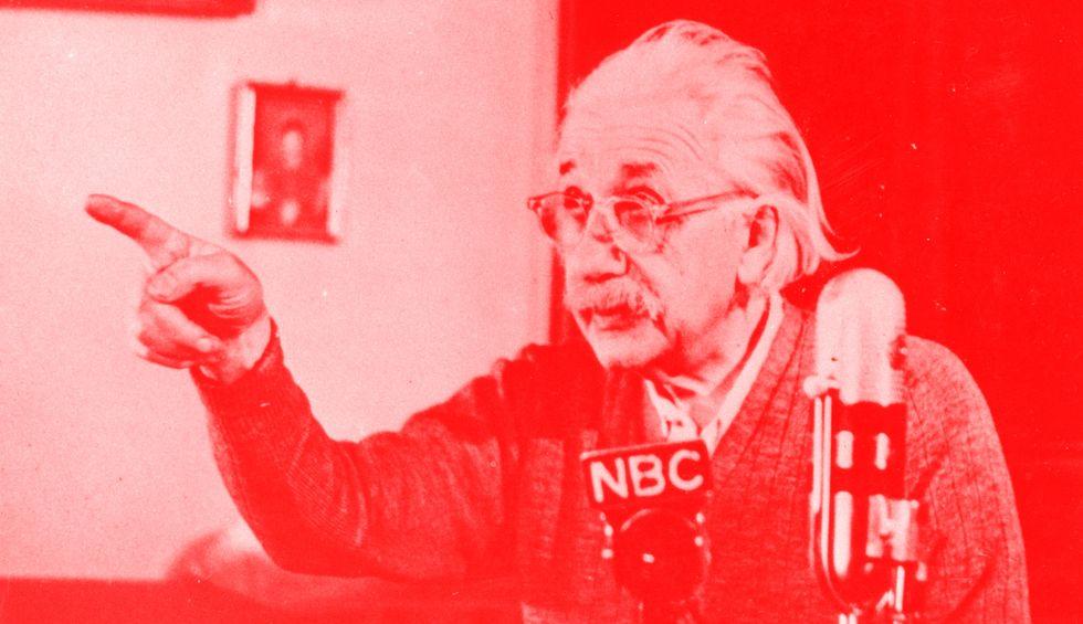 Was Albert Einstein a socialist?