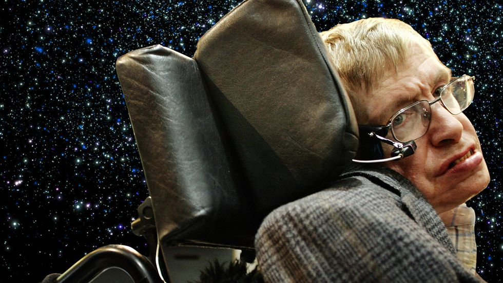 British physicist Stephen Hawking in 2005. (Photo: THOMAS LOHNES/AFP/Getty Images)