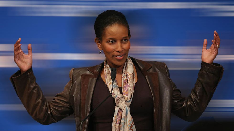Activist and author Ayaan Hirsi Ali. (Photo by Mark Wilson/Getty Images)