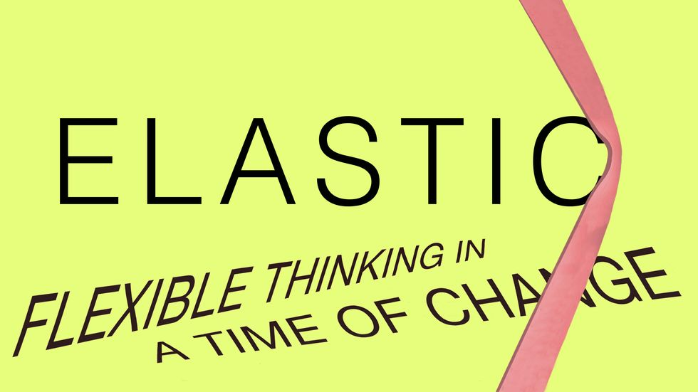 Cover image of Elastic Thinking: Flexible Thinking in a Time of Change by Leonard Mlodinow