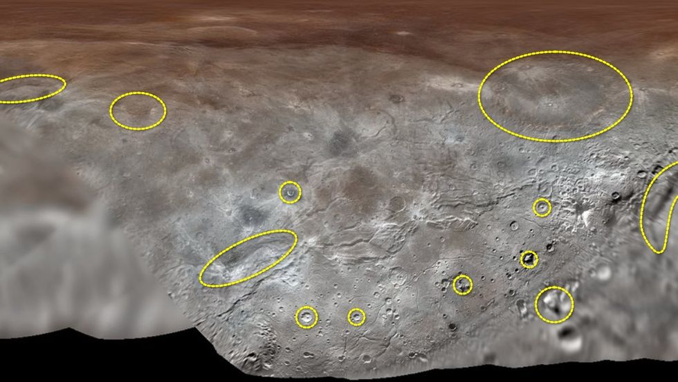 Charon's named spots. (Big Think/Corry O'Quinn)